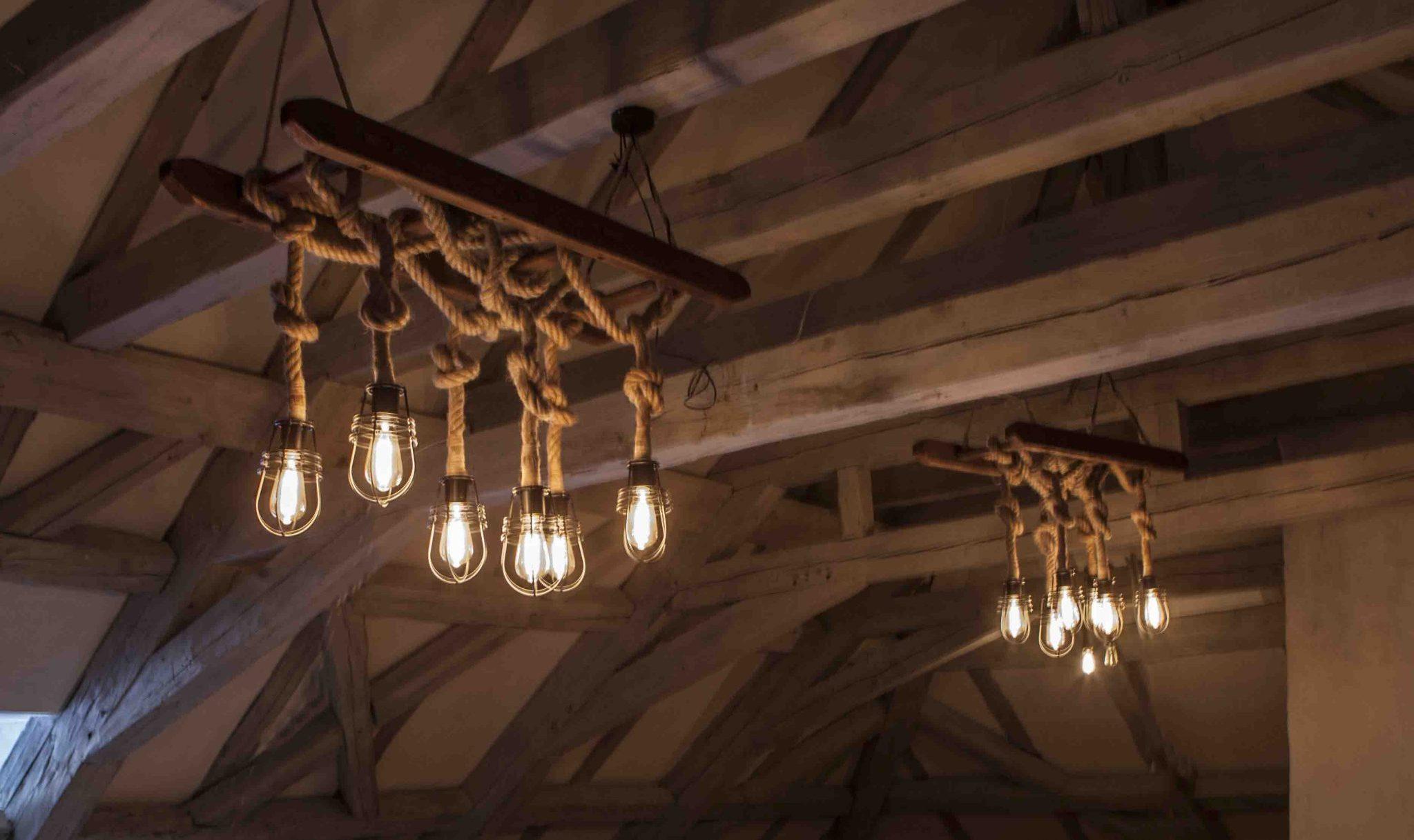 Lampa drabinowa