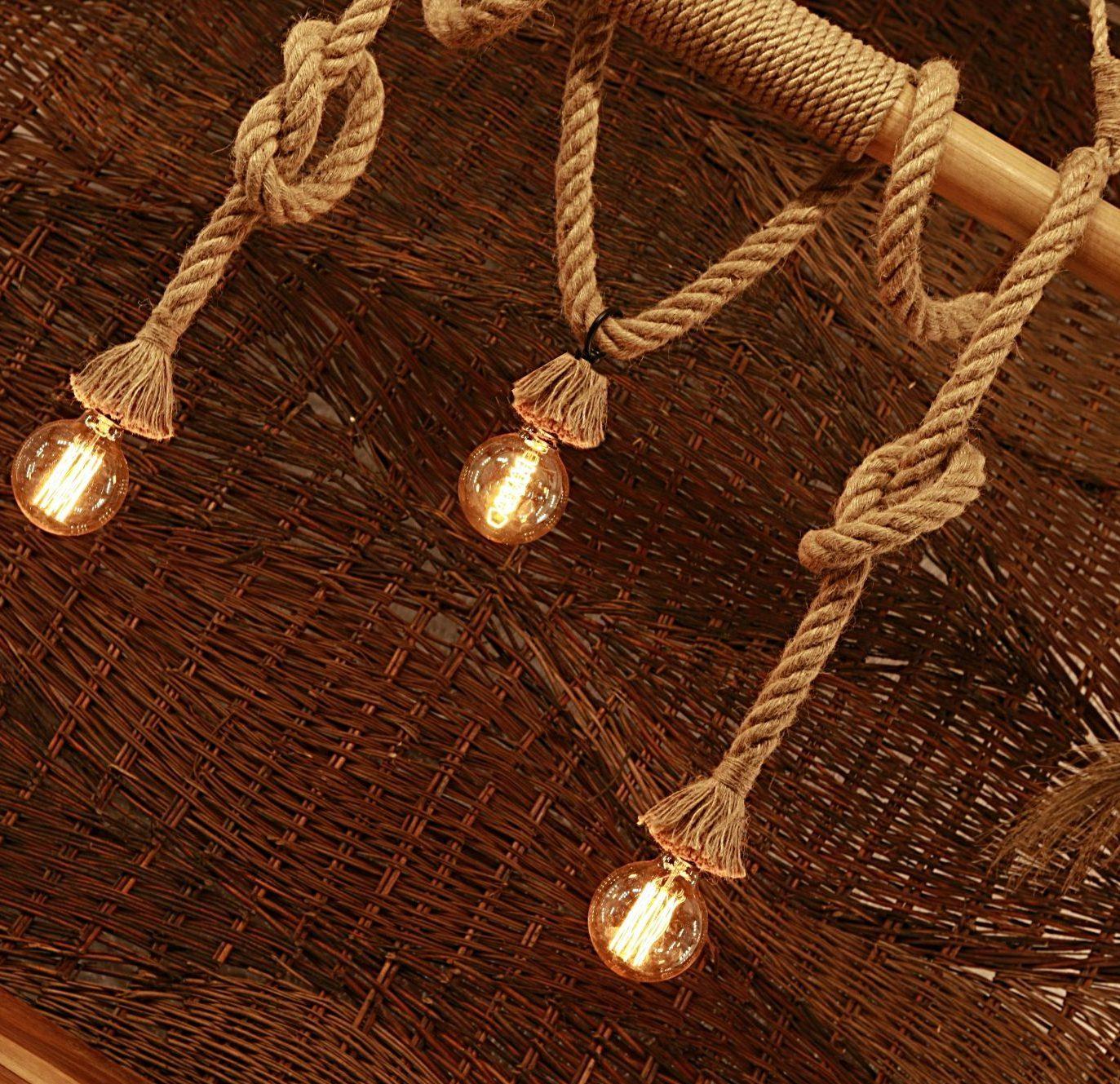 Bambusowa – 3 żarówki